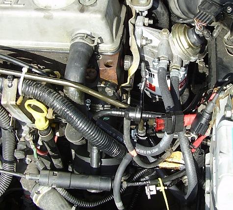 Diesel üzemanyagrendszer légtelenítése